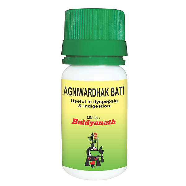 भूख बढ़ाने की आयुर्वेदिक दवा बैद्यनाथ अग्निवर्धक वटी - bhuk Badhane ki ayurvedic dawa Baidyanath Agniwardhak Bati