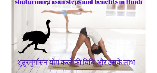 शुतुरमुर्गासन योग करने की विधि और उसके लाभ - shuturmurg asan steps and benefits in Hindi