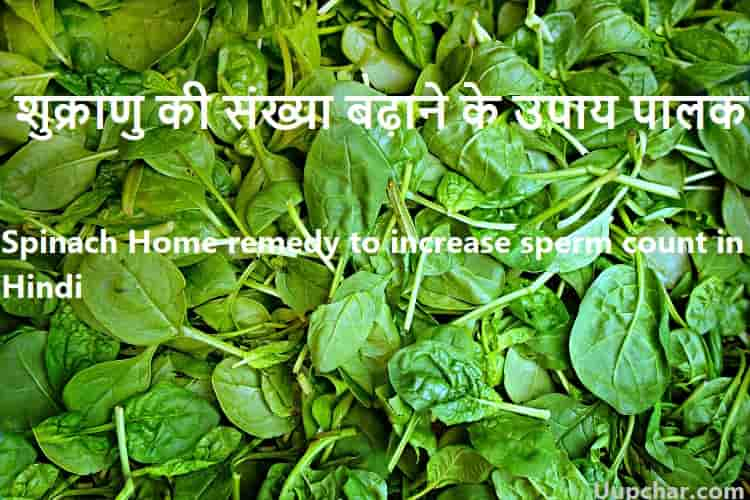 Home remedy to increase sperm count in Hindi